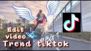 Hướng dẫn tạo video nhảy đứng hình Trend TikTok | How to edit Video TikTok effect on iphone |QTUN Uy