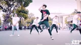 Tik tok dance / đại chiến giữa 2 nhóm nhảy đường phố Việt Nam (katx.team ) vs Trung Quốc(BUQI )