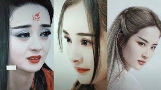 Tik Tok Trung Quốc ? Đỉnh Cao Nghệ Thuật Vẽ Tranh Chân Dung
