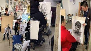 Lớp học vẽ tranh 3D và những cú lừa  đỉnh cao # 2