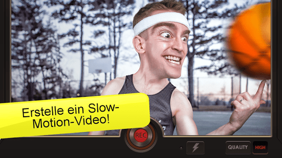 Giao diện của Slow Motion Video FX
