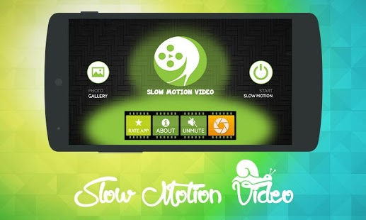Giao diện Slow Motion Camera