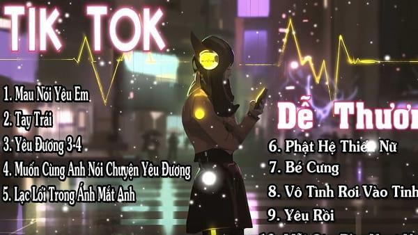 Nhạc Tik Tok dễ thương 5