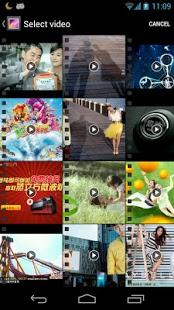 Giao diện Video Maker Movie Editor